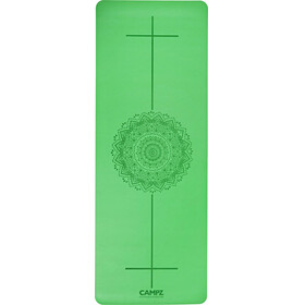 CAMPZ PU Position Line - Tapis de yoga - vert